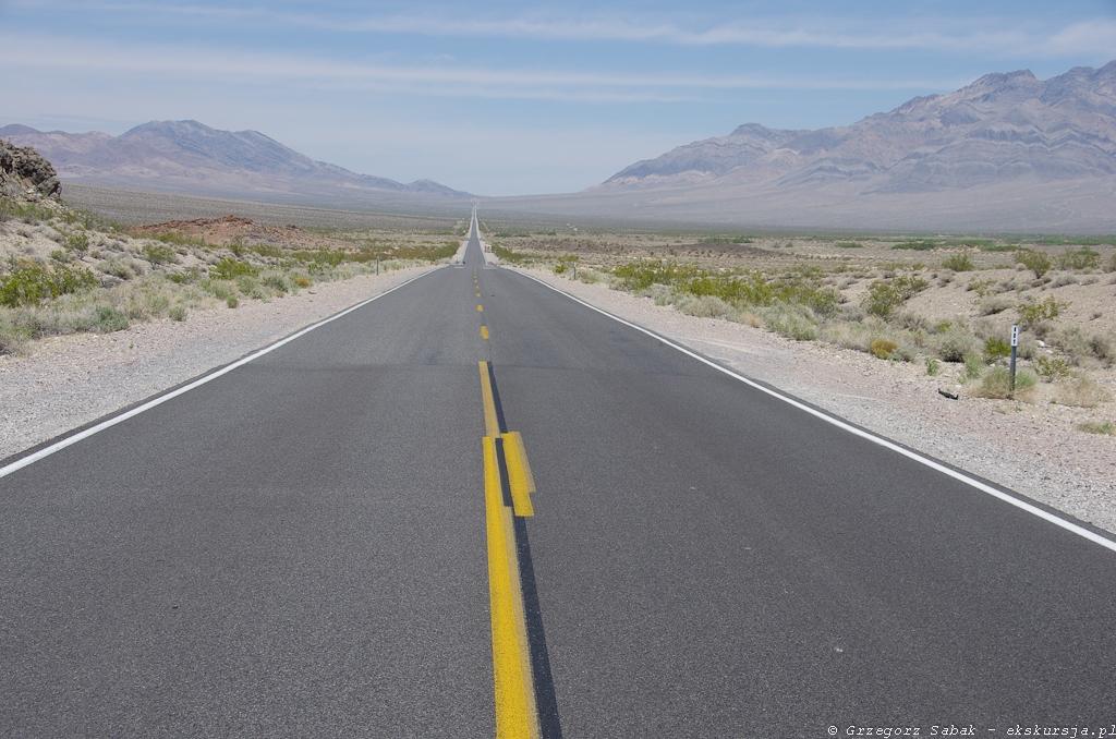 W drodze do Doliny Śmierci