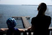 Widok na jezioro Śniardwy