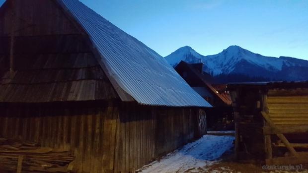 Zdziarska stodoła, Płaczliwa Skała (2142 m) i Hawrań (2152 m) - luty 2016