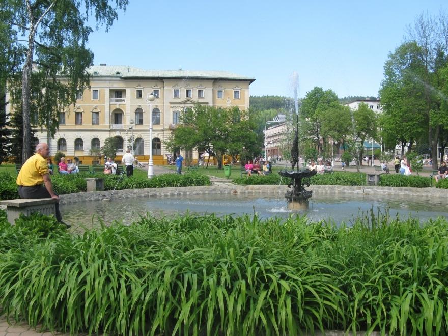 Kuracjusz i fontanna
