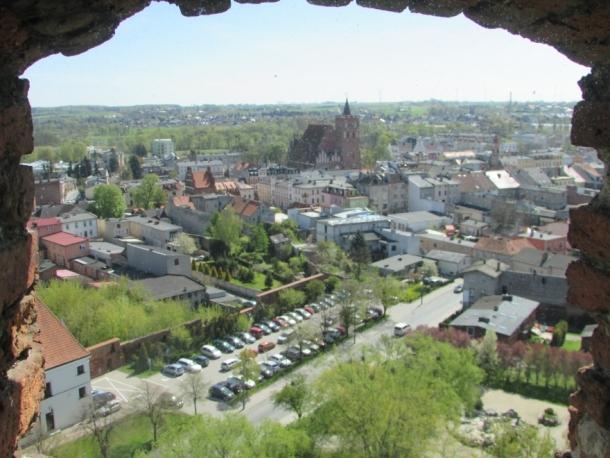 Panorama miasta z wieży