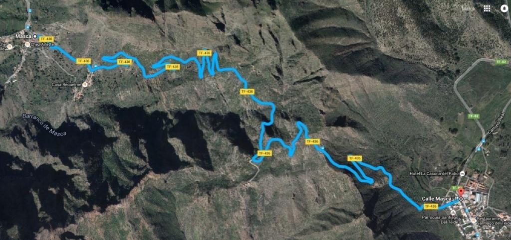 Santiago del Teide - Masca