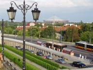 Pomniki postępu - trasa WZ i Stadion Narodowy