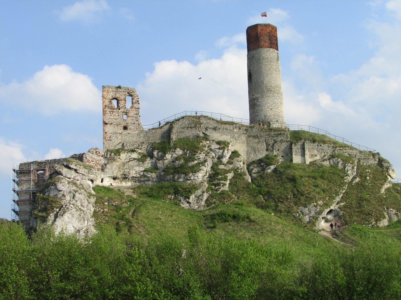 Zamek w Osztynie